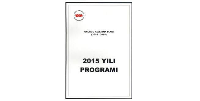 2015 Yılı Programı Yayımlandı