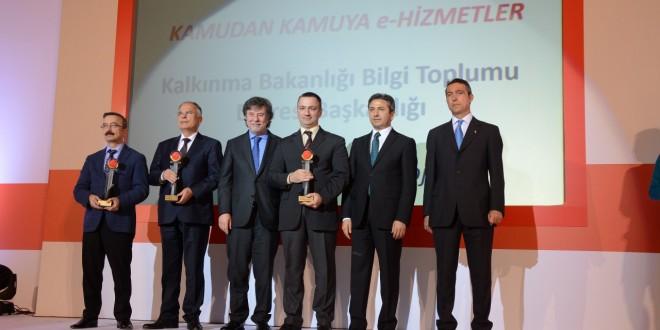 e-Yazışma Projesi 13. eTR Ödüllerinde Birincilik Ödülü Kazanmıştır.