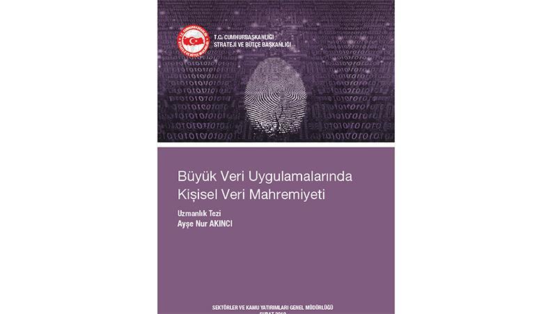 Büyük Veri Uygulamalarında Kişisel Veri Mahremiyeti konulu uzmanlık raporu yayınlanmıştır
